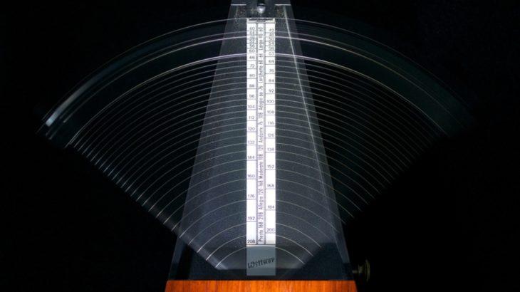GarageBandでメトロノームの音色(クリック音)や音量を変える方法